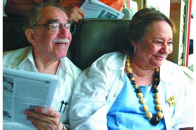 Gabriel García Márquez y Mercedes Barcha, más que un matrimonio, fueron una dupla, un equipo.