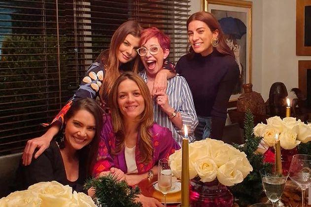 La amistad de los famosos fuera de la pantalla: Andrea Serna, Lina Tejeiro y más