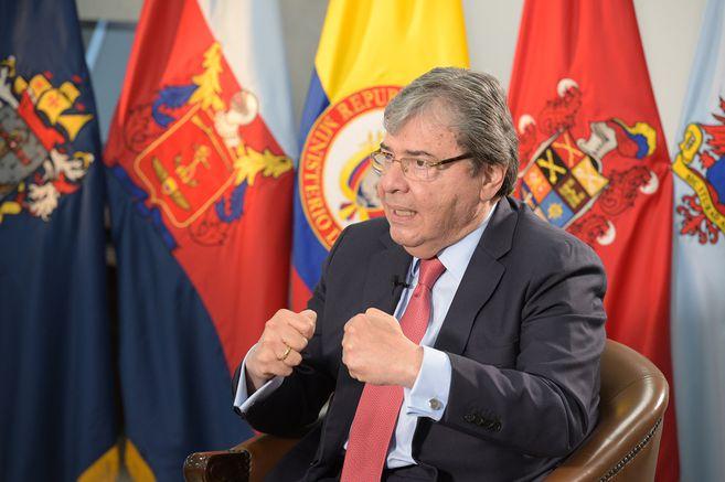 Ministro de Defensa dice que las protestas en Bogotá fueron infiltradas por  el Eln | EL ESPECTADOR