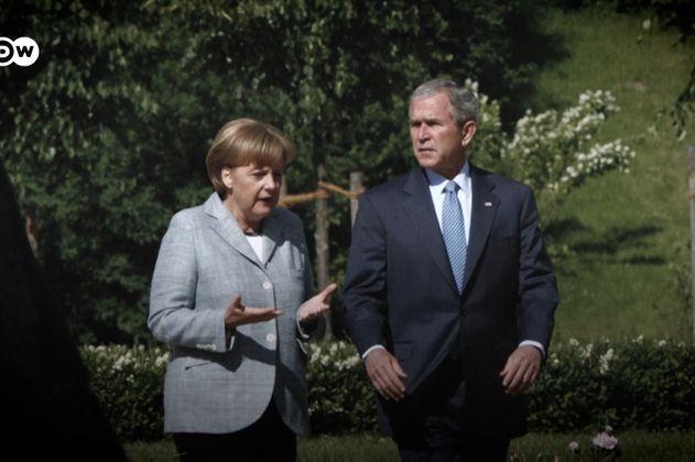 George W. Bush reflexiona sobre el legado de Angela Merkel