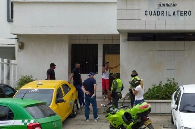 Denuncian maltrato animal en un gimnasio de Barranquilla