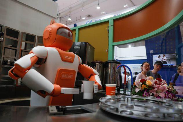Robots de entregas afectarían los trabajos de repartidores chinos