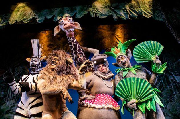 """""""Madagascar"""": de dibujos animados a una obra en vivo"""