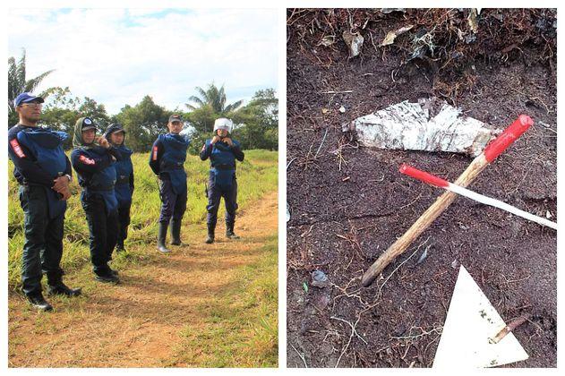 Humanicemos DH, el equipo de desminado de las exFarc, halló mina antipersonal