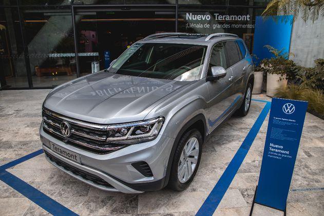 """5 novedades de Teramont, el carro que hizo de Volkswagen una """"marca de camionetas"""""""