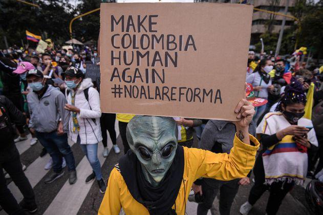 EN VIVO Paro Nacional: siga las marchas en Medellín, Cali y las principales ciudades