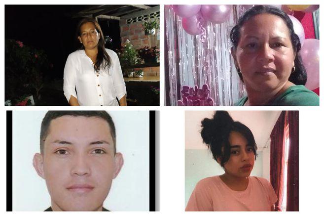 A Medicina Legal en Villavicencio llegaron cuatro cadáveres, de tres mujeres y un hombre, encontrados en límites entre Uribe y Mesetas (Meta).
