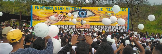 El homenaje se realizó el 6 de agosto.