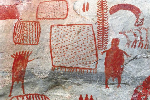 """El polémico """"descubrimiento"""" de pinturas rupestres en Guaviare"""