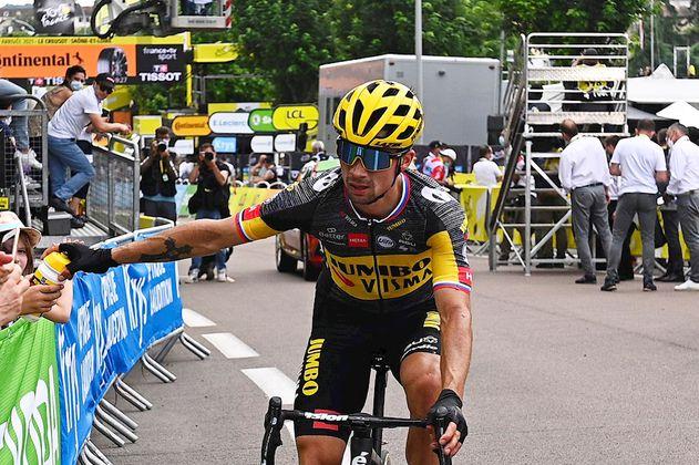Tour de Francia 2021: Primoz Roglic se retiró de la carrera
