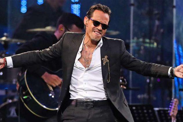 Marc Anthony le canta a joven invidente durante concierto