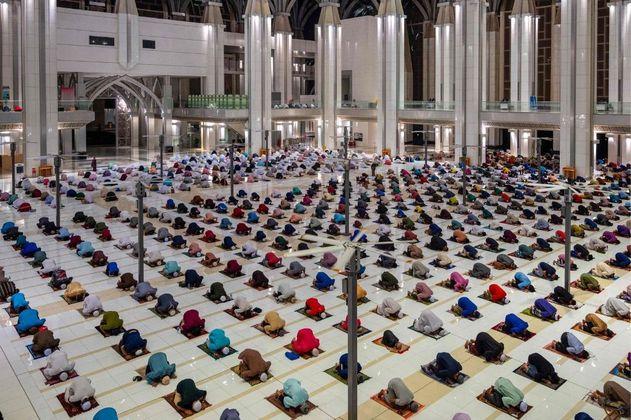 Las mejores fotos del segundo Ramadán en pandemia