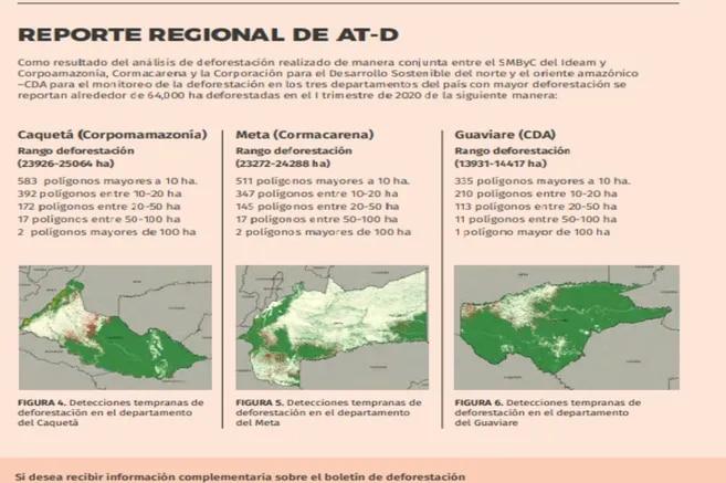 Reporte regional.