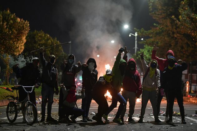 Paro Nacional: noche violenta en Cali, Manizales y Floridablanca