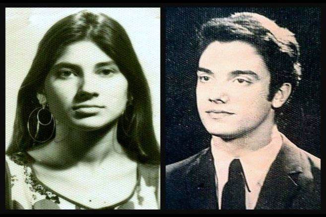 Gastón Gonçalves y Ana Granada, padre y madre de Manuel, desaparecidos y asesinados en la dictadura militar de 1976.