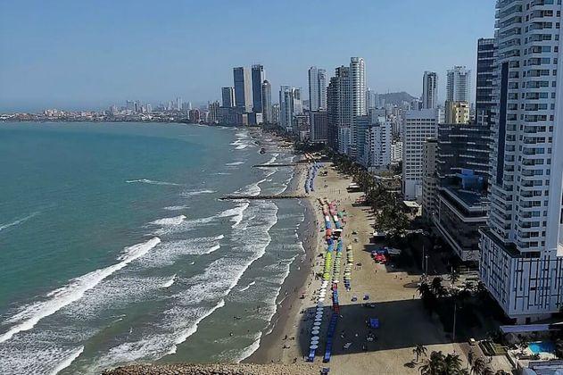 La erosión costera está amenazando a Cartagena
