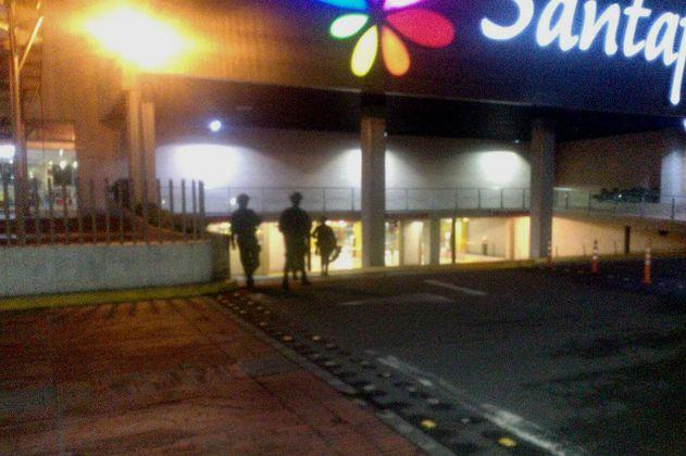 Tragedia en centro comercial Santafé