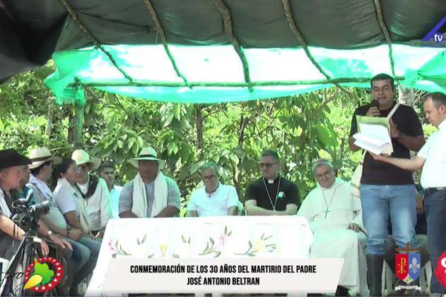 Después de 30 años, exFarc reconocen asesinato del padre José Antonio Beltrán