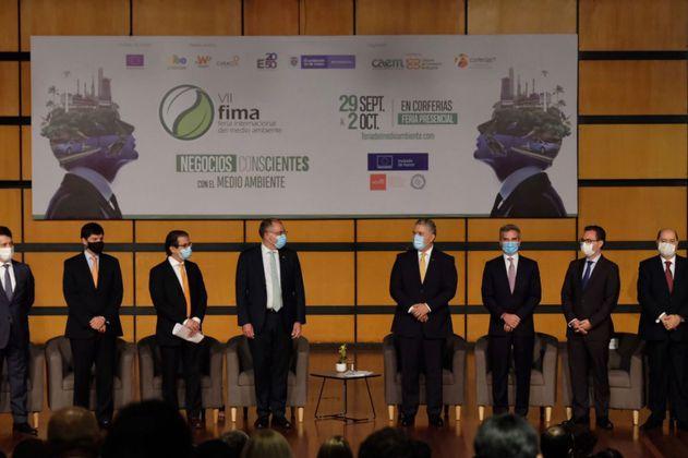 Las críticas a la Feria de Ambiente por su panel inaugural: 8 hombres y 0 mujeres
