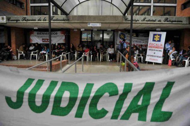 Inicia paro de la Rama Judicial por 48 horas