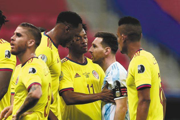 """Yerry Mina: """"Lo que pasó con Messi ya quedó atrás"""""""