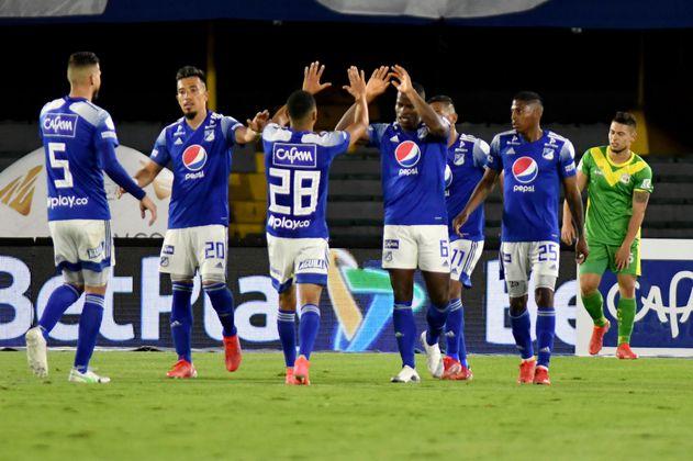 Millonarios derrotó a Deportes Quindío en el partido de los autogoles