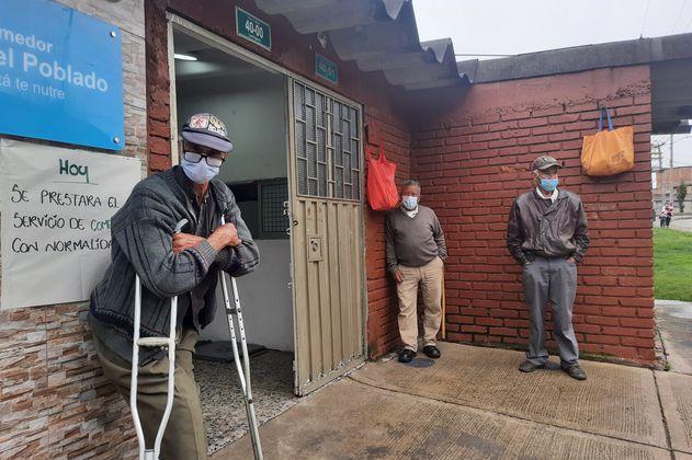 A pesar de millonario hurto, comedor comunitario de Bogotá sigue en funcionamiento