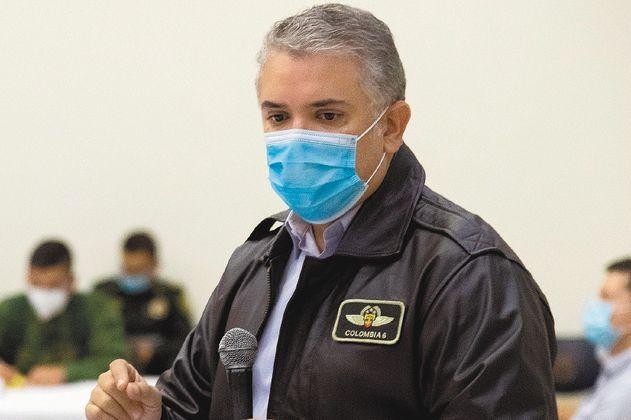 Desaprobación del presidente Iván Duque llega al 76 %: Invamer Poll