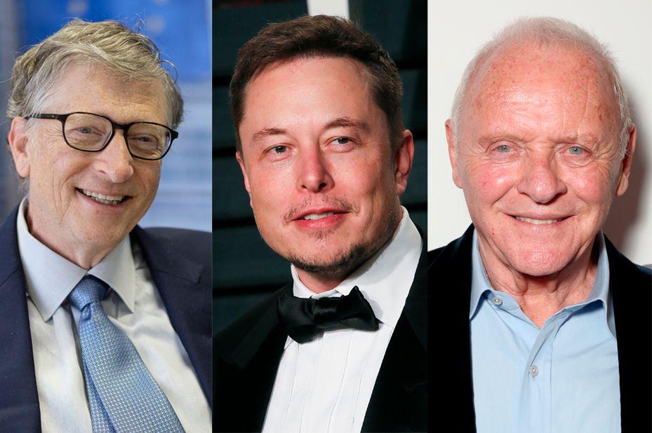 Bill Gates, Elon Musk, Anthony Hopkins y otros famosos con Síndrome de Asperger