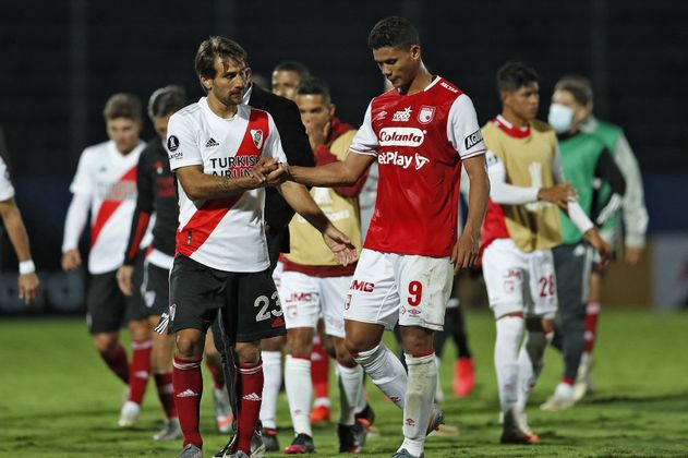 Santa Fe sigue sin ganar en la Libertadores: empató con River Plate