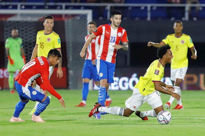 En vivo: minuto a minuto Paraguay vs. Colombia   Eliminatorias Qatar 2022