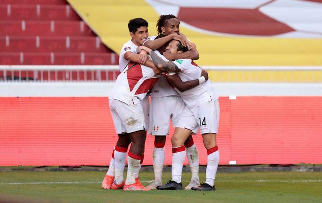 Perú le ganó a Ecuador en Quito   Eliminatorias hoy