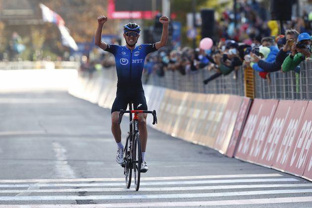 Ben O'Connor tuvo su revancha y se llevó la etapa 17 del Giro de Italia