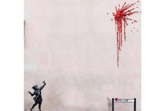 Banksy reivindica nuevas obras aparecidas en Inglaterra