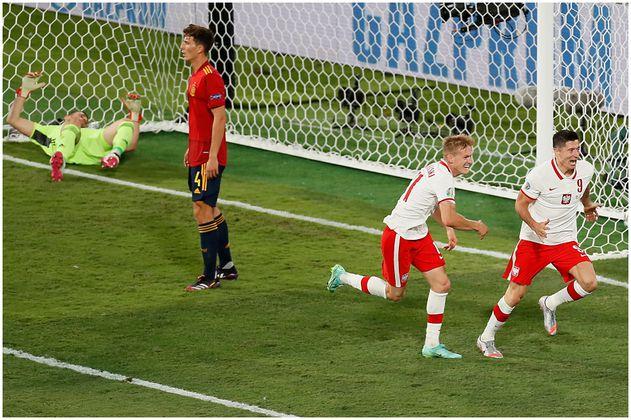 España no pudo con Polonia en la Eurocopa 2020