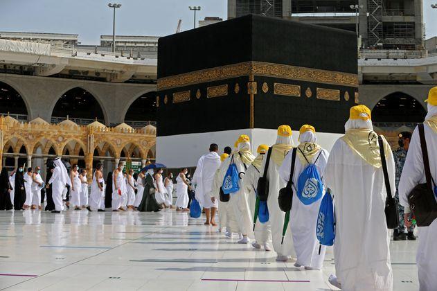 Inicia la segunda peregrinación a La Meca en tiempos de pandemia