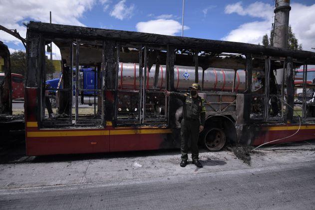 Fotos: Estos son los más buscados por presunto vandalismo en Bogotá