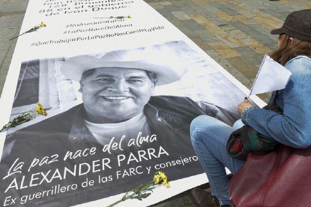 El rastro de disidencias en el asesinato del exguerrillero Alexander Parra
