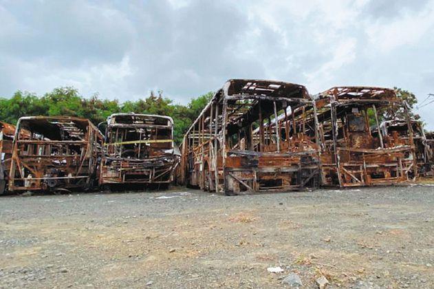 Las millonarias pérdidas del transporte público durante el paro nacional