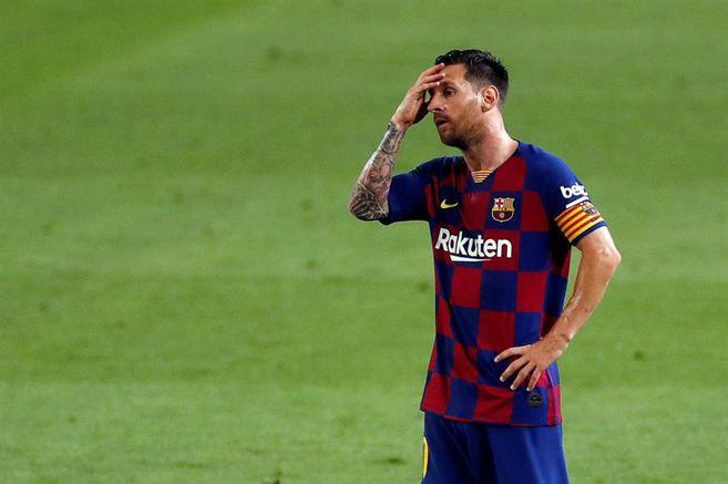 Lionel Messi y su molestia por la derrota 2-1 contra Osasuna | EL ESPECTADOR