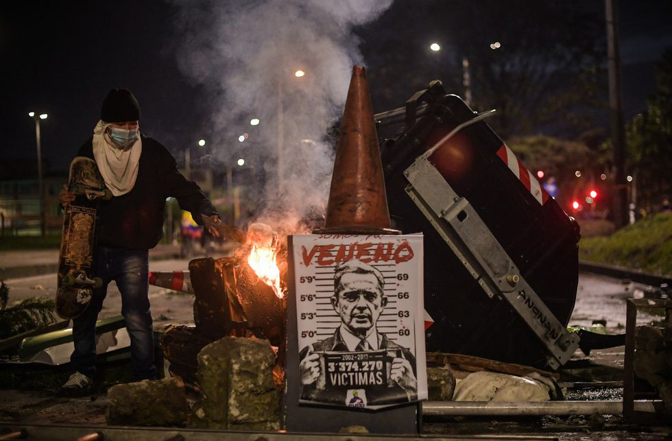 Una nueva jornada de manifestaciones se vivió este viernes 30 de abril en Bogotá.