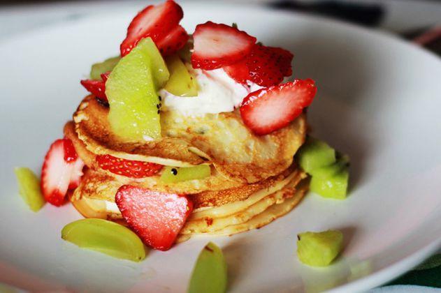 3 recetas de pancakes saludables para disfrutar en el desayuno
