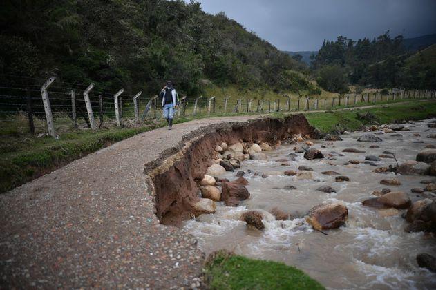 Ola invernal: ¿cuáles son las zonas de riesgo en Bogotá?