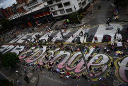 ¿Dónde están los desaparecidos del Paro Nacional? Un grito desde la carrera séptima en Bogotá