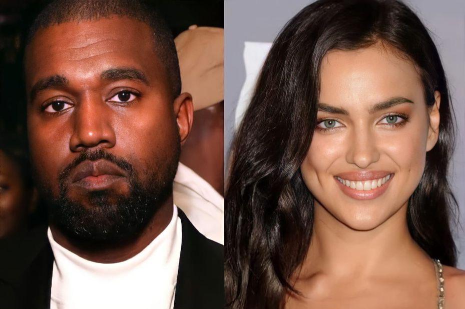 Irina Shayk y Kanye West se conocieron en 2010 durante la grabación del video de la canción 'Power'.