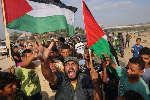 Más de 40 heridos en enfrentamientos en la frontera entre Gaza e Israel