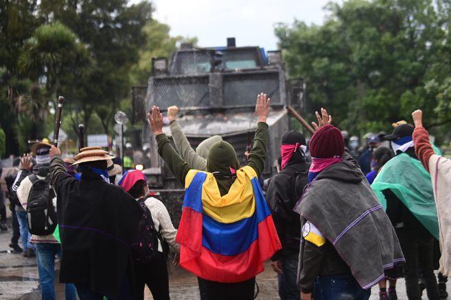 En conmemoración al inicio del paro nacional hace dos meses, el lunes 28 de junio hubo marchas, bloqueos y plantones en varias ciudades del país.