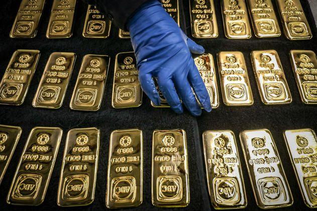 Reservas de oro del Banco de la República cayeron 61% en 2020