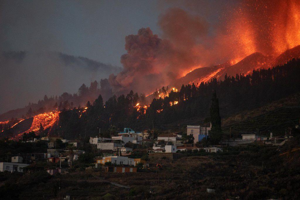 La erupción del volcán Cumbre Vieja, en La Palma, ha devastado cerca de 600 hectáreas, según el gobierno español.