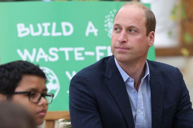 Príncipe Guillermo pide salvar la Tierra frente al desarrollo del turismo espacial